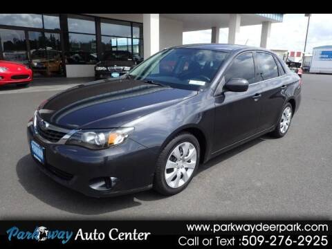 2009 Subaru Impreza for sale at PARKWAY AUTO CENTER AND RV in Deer Park WA