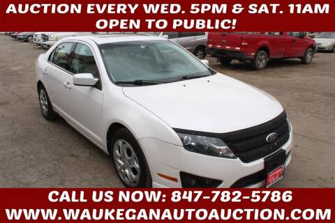 2010 Ford Fusion for sale at Waukegan Auto Auction in Waukegan IL