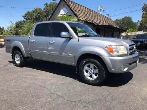2005 Toyota Tundra for sale at Three Bridges Auto Sales in Fair Oaks CA