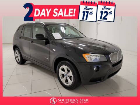 2011 BMW X3 for sale at Southern Star Automotive, Inc. in Duluth GA