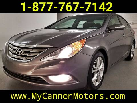 2011 Hyundai Sonata for sale at Cannon Motors in Silverdale PA