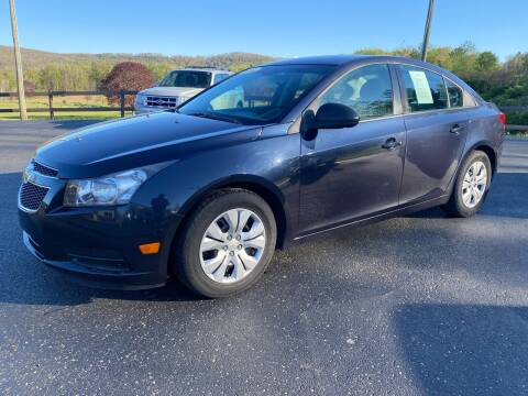 2014 Chevrolet Cruze for sale at Pine Grove Auto Sales LLC in Russell PA