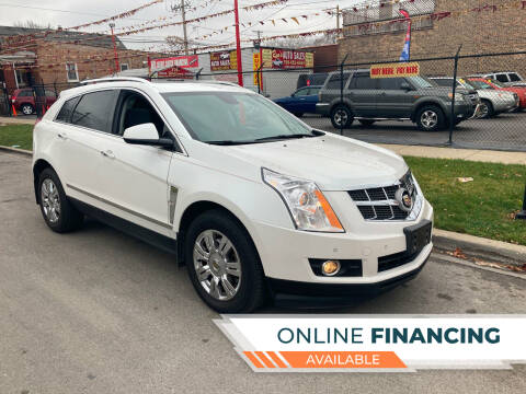 2011 Cadillac SRX for sale at RON'S AUTO SALES INC in Cicero IL