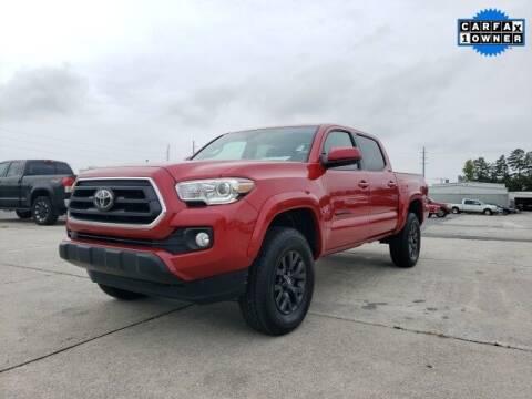 2021 Toyota Tacoma for sale at Hardy Auto Resales in Dallas GA