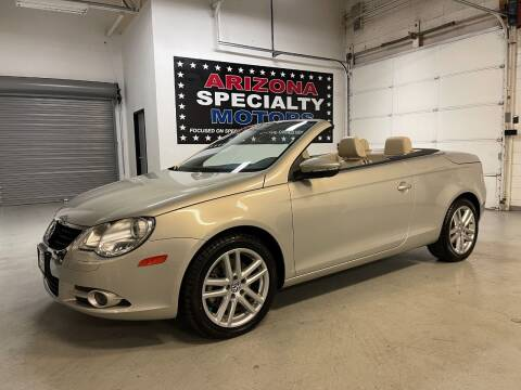 2009 Volkswagen Eos for sale at Arizona Specialty Motors in Tempe AZ