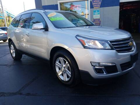 2014 Chevrolet Traverse for sale at Fleetwing Auto Sales in Erie PA
