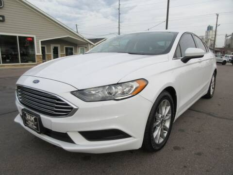 2017 Ford Fusion for sale at Dam Auto Sales in Sioux City IA