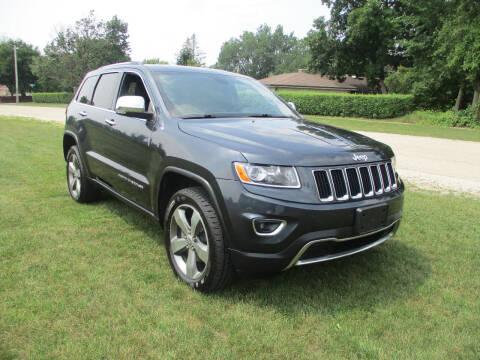 2016 Jeep Grand Cherokee for sale at Triangle Auto Sales in Elgin IL