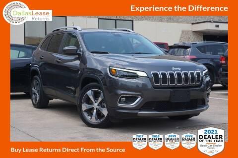 2020 Jeep Cherokee for sale at Dallas Auto Finance in Dallas TX