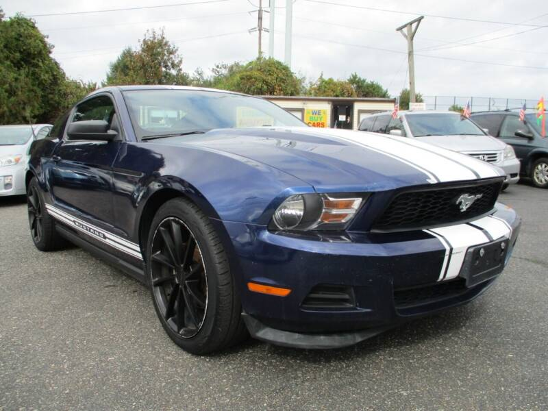 2012 Ford Mustang for sale at Unlimited Auto Sales Inc. in Mount Sinai NY