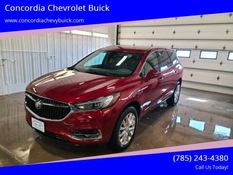 2021 Buick Enclave for sale at Concordia Chevrolet Buick in Concordia KS