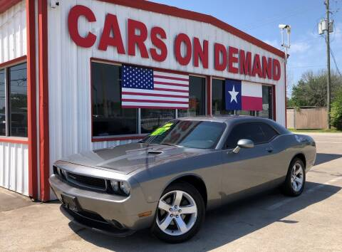 2011 Dodge Challenger for sale at Cars On Demand 3 in Pasadena TX