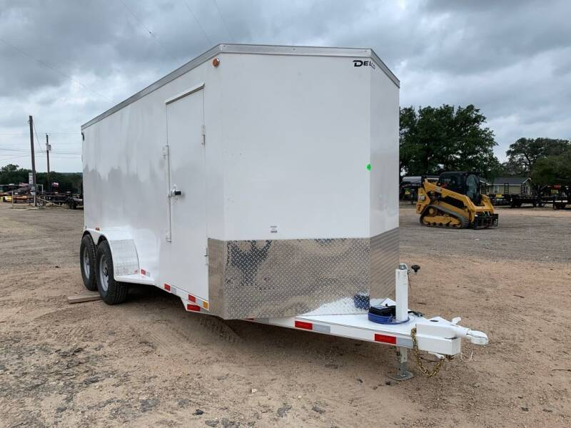 2022 DELCO  -ENCLOSED-6' 8' X 16'-CARGO-B for sale at LJD Sales in Lampasas TX