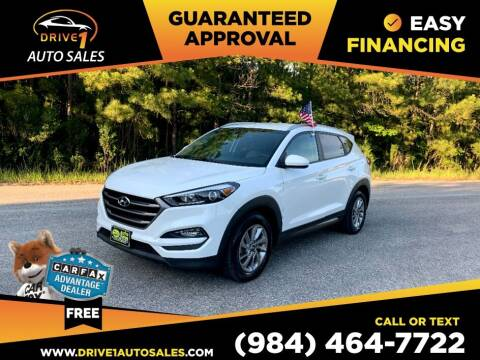 2016 Hyundai Tucson for sale at Drive 1 Auto Sales in Wake Forest NC
