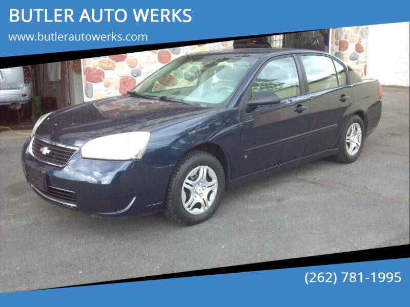 2007 Chevrolet Malibu for sale at BUTLER AUTO WERKS in Butler WI