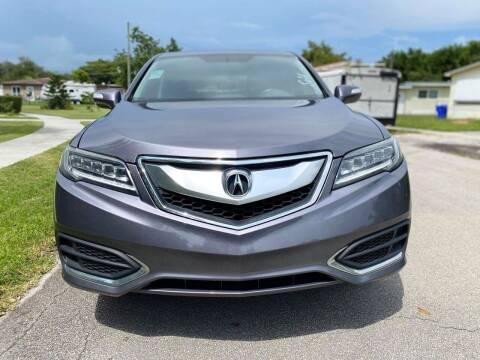 2017 Acura RDX for sale at CAR UZD in Miami FL