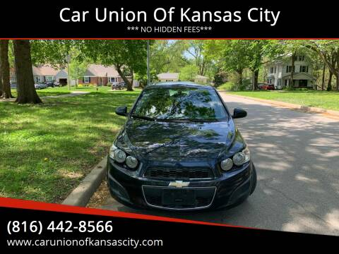 2015 Chevrolet Sonic for sale at Car Union Of Kansas City in Kansas City MO