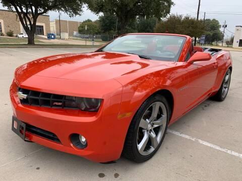 2012 Chevrolet Camaro for sale at Sima Auto Sales in Dallas TX
