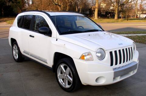 2008 Jeep Compass for sale at Angelo's Auto Sales in Lowellville OH