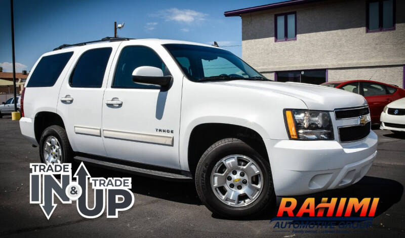 2011 Chevrolet Tahoe for sale at Rahimi Automotive Group in Yuma AZ