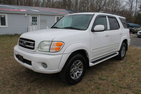 2004 Toyota Sequoia for sale at Manny's Auto Sales in Winslow NJ