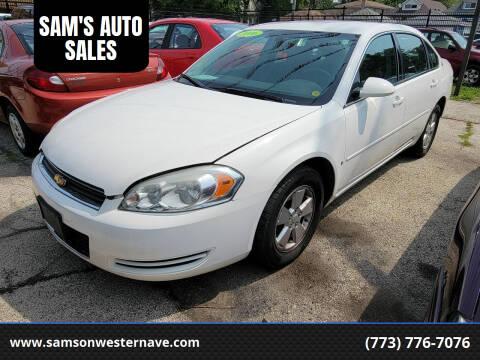 2006 Chevrolet Impala for sale at SAM'S AUTO SALES in Chicago IL