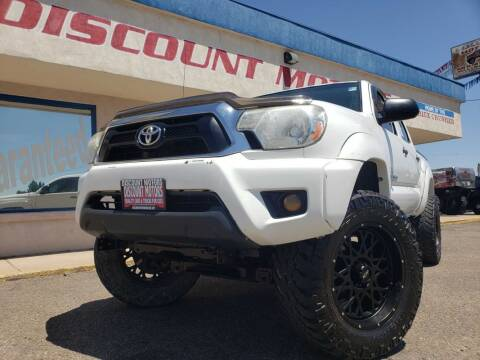2015 Toyota Tacoma for sale at Discount Motors in Pueblo CO