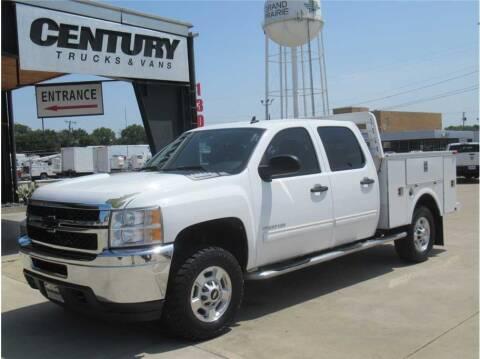 2011 Chevrolet Silverado 2500HD for sale at CENTURY TRUCKS & VANS in Grand Prairie TX