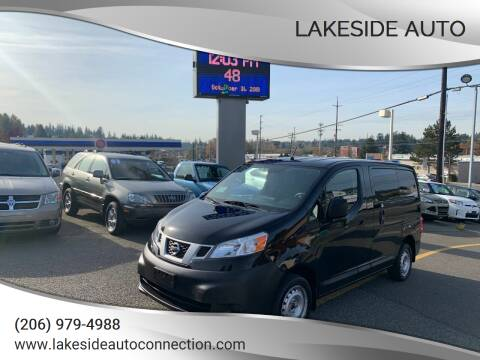 2016 Nissan NV200 for sale at Lakeside Auto in Lynnwood WA