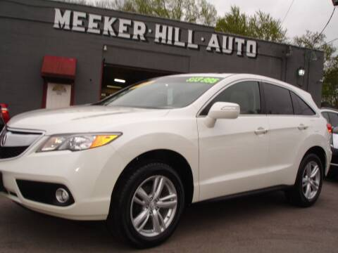 2013 Acura RDX for sale at Meeker Hill Auto Sales in Germantown WI