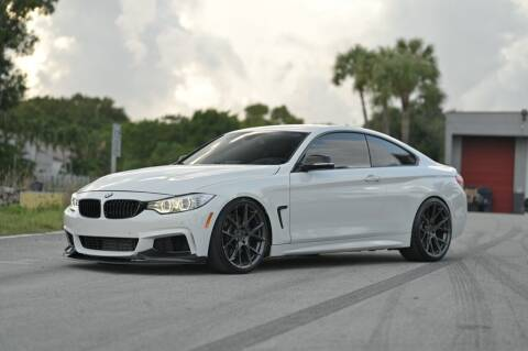 2014 BMW 4 Series for sale at EURO STABLE in Miami FL
