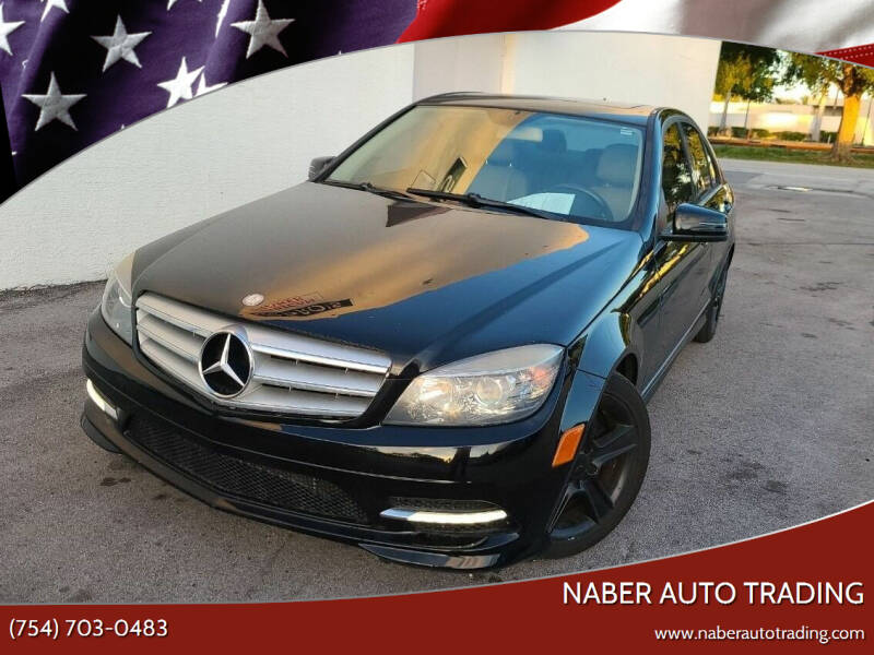 2011 Mercedes-Benz C-Class for sale at Naber Auto Trading in Hollywood FL