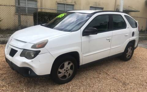 2002 Pontiac Aztek for sale at Go Time Automotive in Sarasota FL