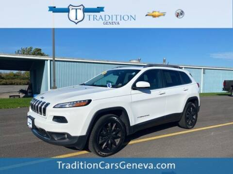 2014 Jeep Cherokee for sale at Tradition Chevrolet Buick in Geneva NY