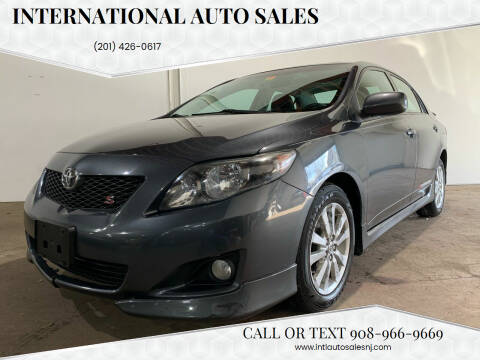 2009 Toyota Corolla for sale at International Auto Sales in Hasbrouck Heights NJ