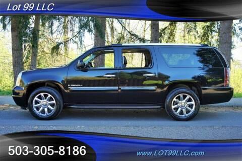 2007 GMC Yukon XL for sale at LOT 99 LLC in Milwaukie OR