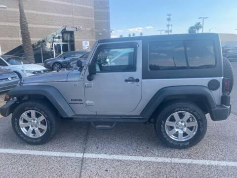 2013 Jeep Wrangler for sale at Camelback Volkswagen Subaru in Phoenix AZ