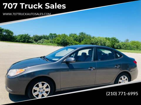 2007 Hyundai Elantra for sale at 707 Truck Sales in San Antonio TX