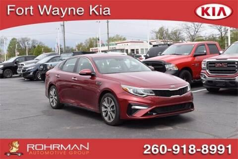 2019 Kia Optima for sale at BOB ROHRMAN FORT WAYNE TOYOTA in Fort Wayne IN