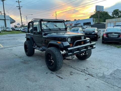 1995 Jeep Wrangler for sale at Green Ride Inc in Nashville TN