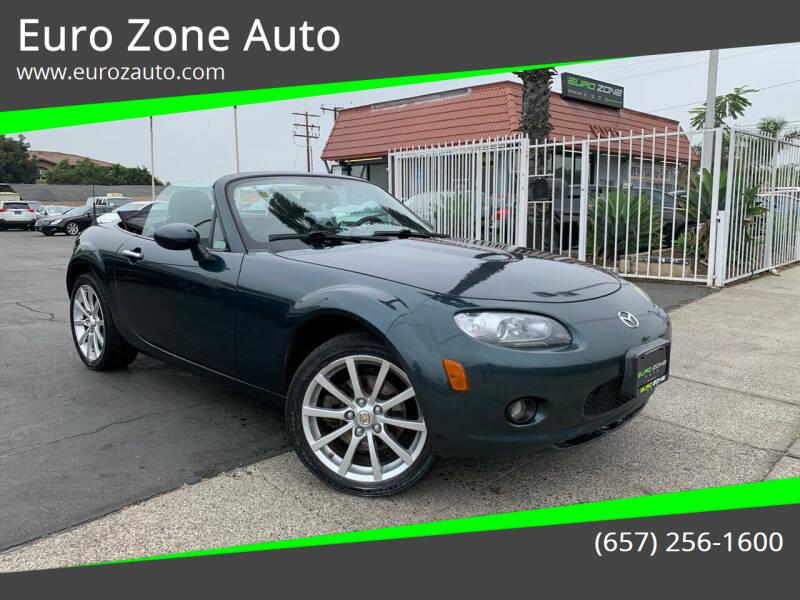 2006 Mazda MX-5 Miata for sale at Euro Zone Auto in Stanton CA
