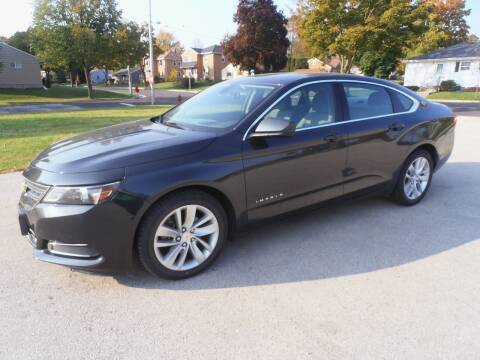 2015 Chevrolet Impala for sale at A-Auto Luxury Motorsports in Milwaukee WI