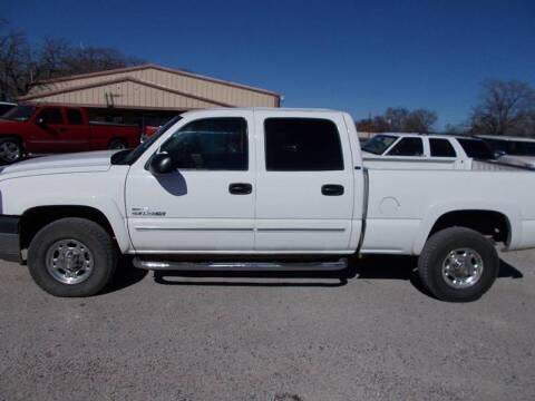 2005 Chevrolet Silverado 2500HD for sale at OTTO'S AUTO SALES in Gainesville TX