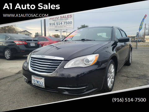 2014 Chrysler 200 for sale at A1 Auto Sales in Sacramento CA