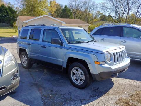 2013 Jeep Patriot for sale at K & P Used Cars, Inc. in Philadelphia TN