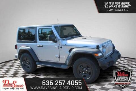 2019 Jeep Wrangler for sale at Dave Sinclair Chrysler Dodge Jeep Ram in Pacific MO