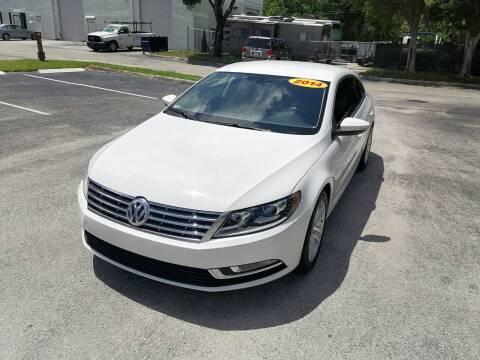 2015 Volkswagen CC for sale at Best Price Car Dealer in Hallandale Beach FL