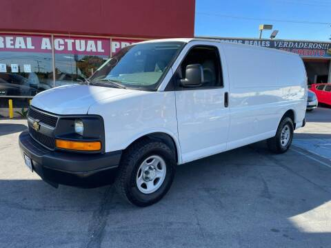 2008 Chevrolet Express Cargo for sale at Sanmiguel Motors in South Gate CA