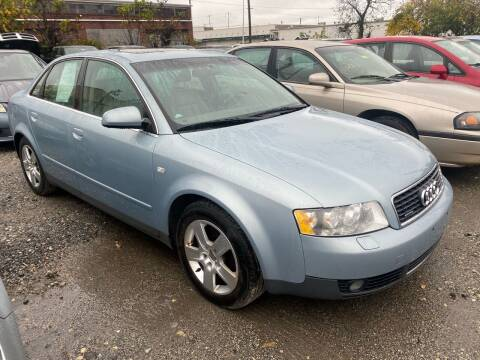 2002 Audi A4 for sale at Philadelphia Public Auto Auction in Philadelphia PA
