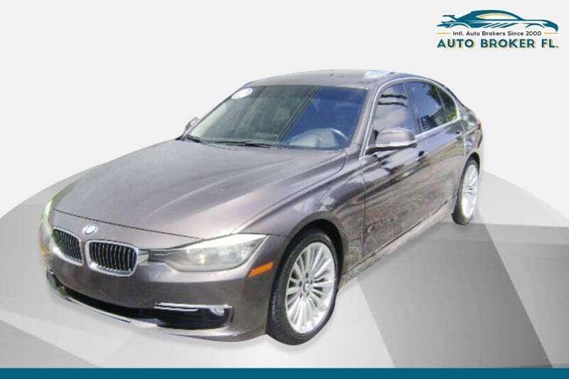 2013 BMW 3 Series for sale at INTERNATIONAL AUTO BROKERS INC in Hollywood FL